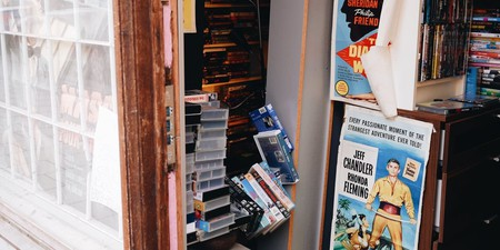 The legendary film boutique called Monkey Beach in Stockholm