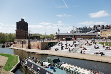 The King's Cross area has been transformed in recent years