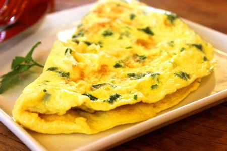 Omelettes are among the delicious items on Waitomo Homestead's breakfast menu