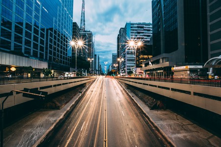 Avenida Paulista, Sao Paulo's best-known and most dynamic streets