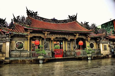 The impressive Longshan Temple