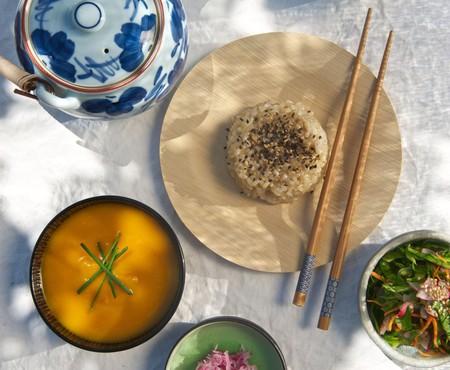 Macrobiotic meal