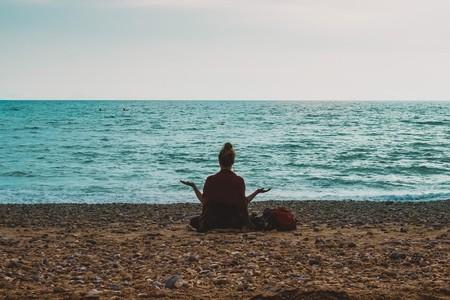 Blue space meditation