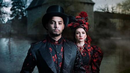 Gothic fashion is popular in Finland