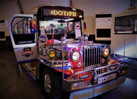 This new prototype design for Philippine jeepney is the closest to the original design. | © Department of Transportation (DOTr-Philippines)