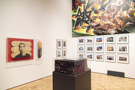Explore art and artifacts throughout the history of hip-hop at the Oakland Museum of California's hottest summer exhibit