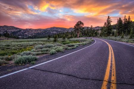 Senora Pass at sunset