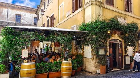 Rome's Trastevere neighbourhood
