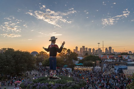 The State Fair of Texas brings in over 2.25 million visitors each year.