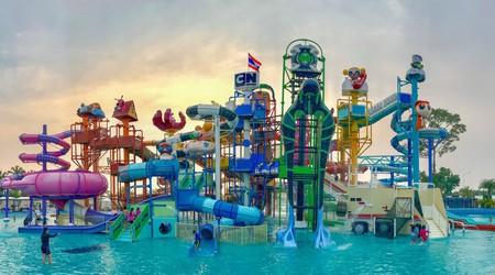 Cartoon Network Amazone Water Park, Pattaya, Thailand