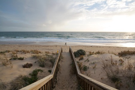 A stunning winter's day at Maslin Beach, South Australia