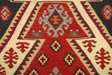 Serbian traditional carpet