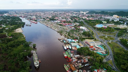 Visit the small 'Oil City' of Sarawak