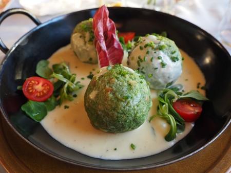 Spinach dumplings, a traditional Austrian recipe