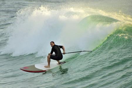 Surfer in Yamba