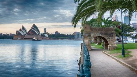 Sydney Harbour foreshore in Kirribilli