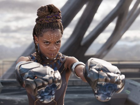 Letitia Wright as Shuri in 'Black Panther'
