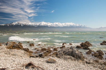 Kaikoura offers unparalleled surfing backdrops