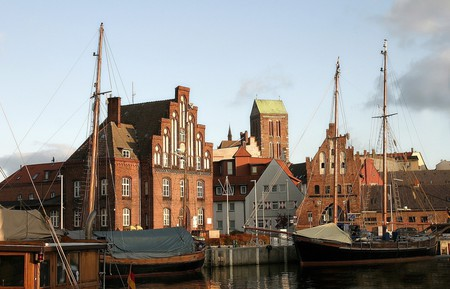 Wismar old harbour