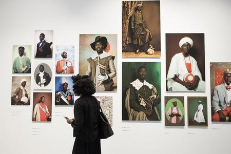 Installation view of 'Project Diaspora'