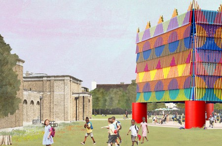 Winning design for Dulwich Pavilion 2019