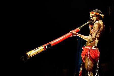 Traditional Aboriginal ceremonial wear