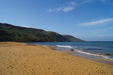 One of Malta's Secret Beaches