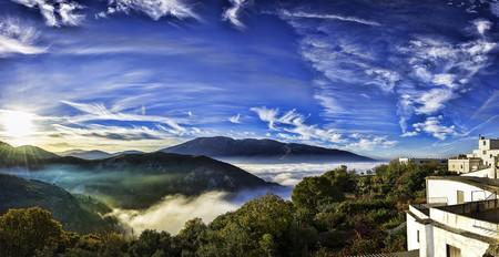 Views from Carataunas, in the Alpujarra region of the Sierra Nevada