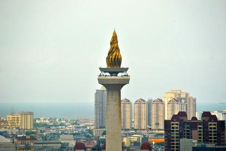 Monumen Nasional's golden top