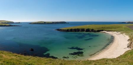 Bay of Scousburgh, Shetland Islands, Scotland