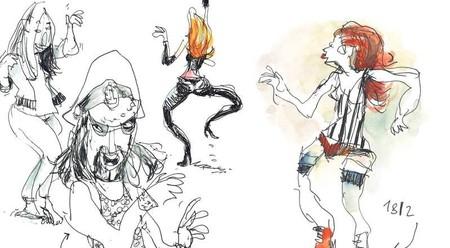 Illustration from the book 'Hedo Berlin' by Felix Scheinberger | © Felix Scheinberger