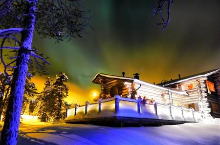 Northern Lights in Ruka, Lapland