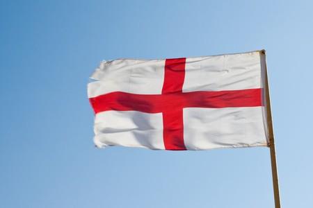 The flag of England