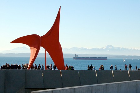 'Eagle' sculpture in the Olympic Sculpture Park