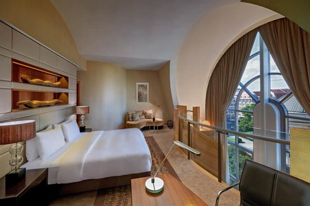The Hilton Berlin offers style in the heart of the German capital