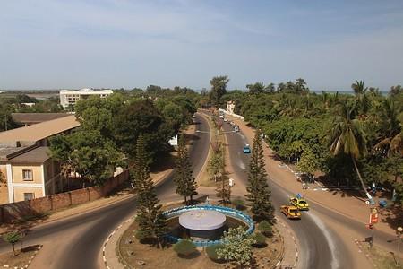 Navigating transport in Banjul, The Gambia