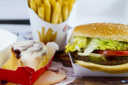 Food from Burger King