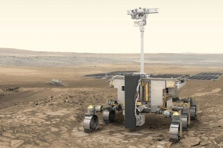 An artist's illustration of the ExoMars rover, which is expected to launch in 2020.