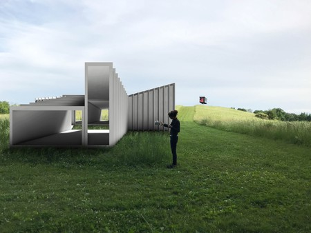 'Zoid' rendering, courtesy of Art Omi: Architecture