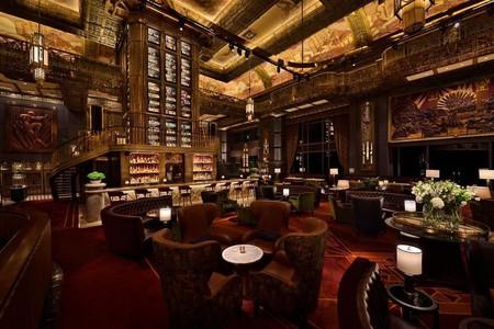 The exquisite interiors of Atlas Bar