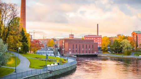 Tampere is a vibrant city with an industrial heritage