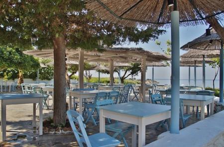 Beachside restaurant
