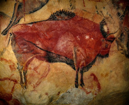 The cave paintings of Altamira, Spain
