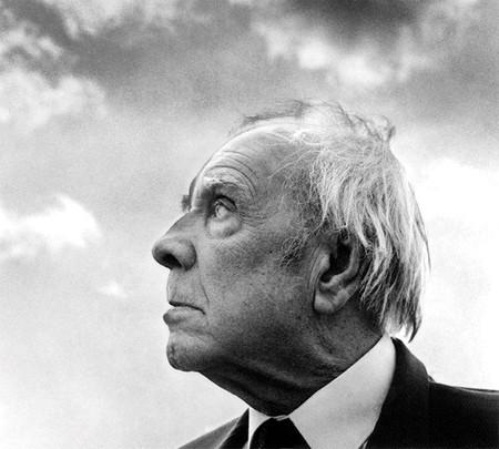 Jorge Luis Borges in Palermo, Sicily, 1984