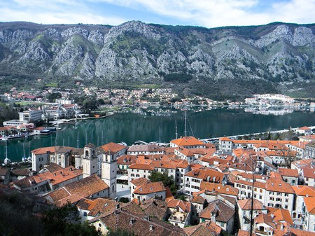 Kotor is one of the most beautiful towns along the Montenegrin coast