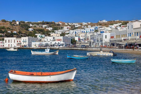 The island of Mykonos offers a cosmopolitan vibe, with plenty of fantastic hotels to match