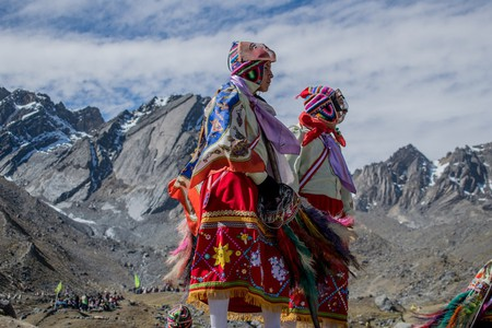 Qoyllur Rit'i takes place thousands of feet high in the Peruvian Andes