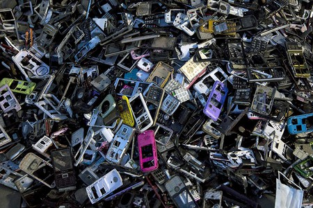 Electronic waste, like discarded phones, is causing a growing headache for Thailand