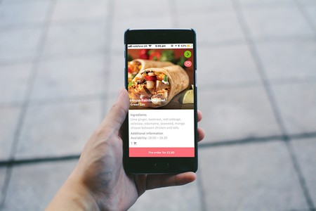 The app lets your order surplus food from restaurants