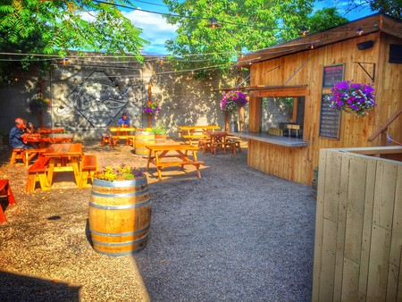 Revival is Bible Club's casual outdoor bar